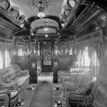 Usa American Railway Car Smoking Car Of The Chicago Limited Train News Photo Getty Images