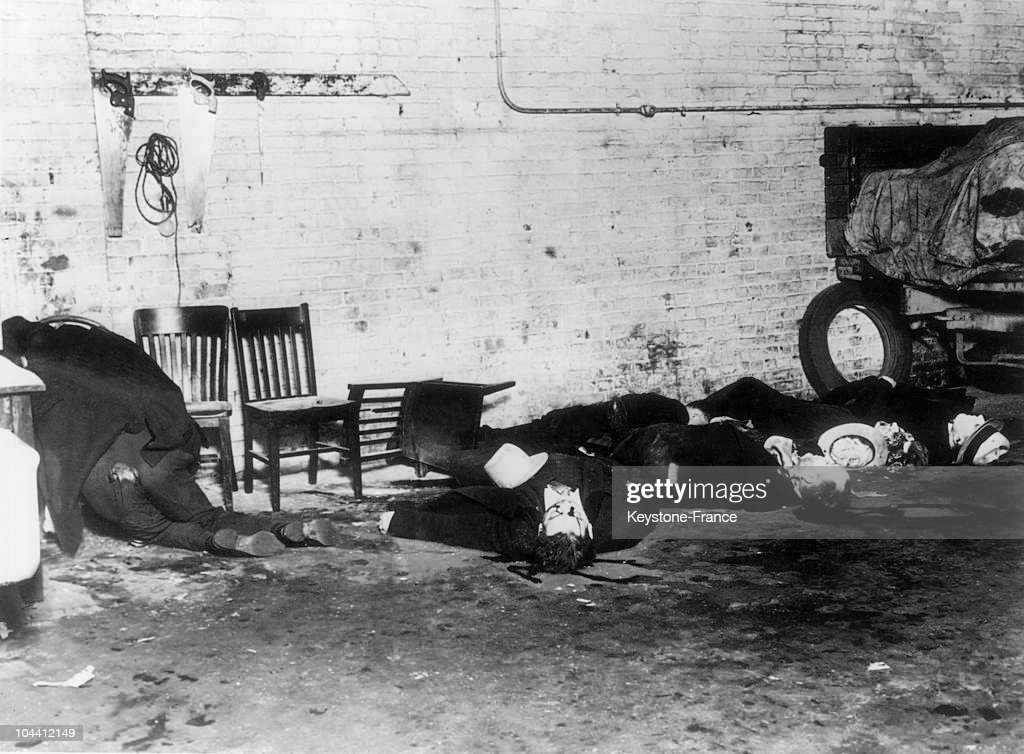 Bodies Of Mobsters From The Morand Gang Killed In Chicago