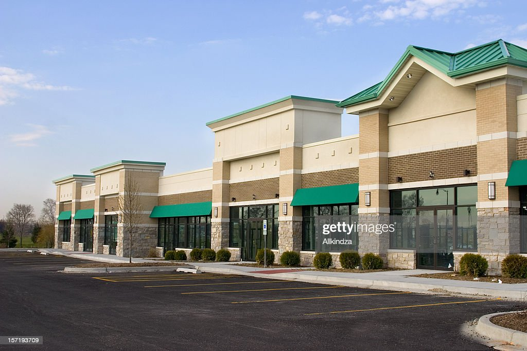 Strip Mall Stock Photos And Pictures Getty Images