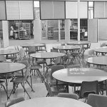 Oct 2 1963 Cafe Type Tables With Blue Green Yellow And Pink News Photo Getty Images