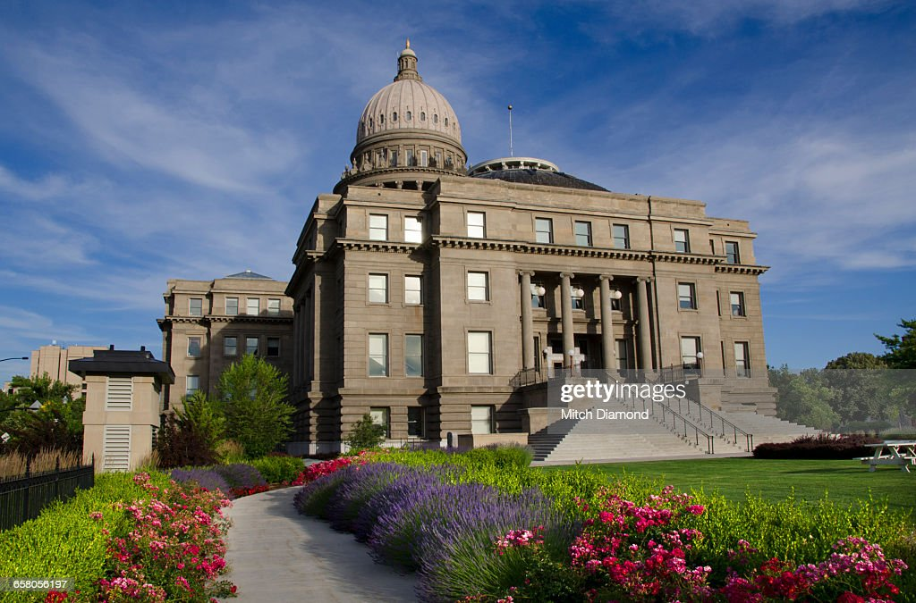 Capitol Building In Boise Idaho Stock Photo