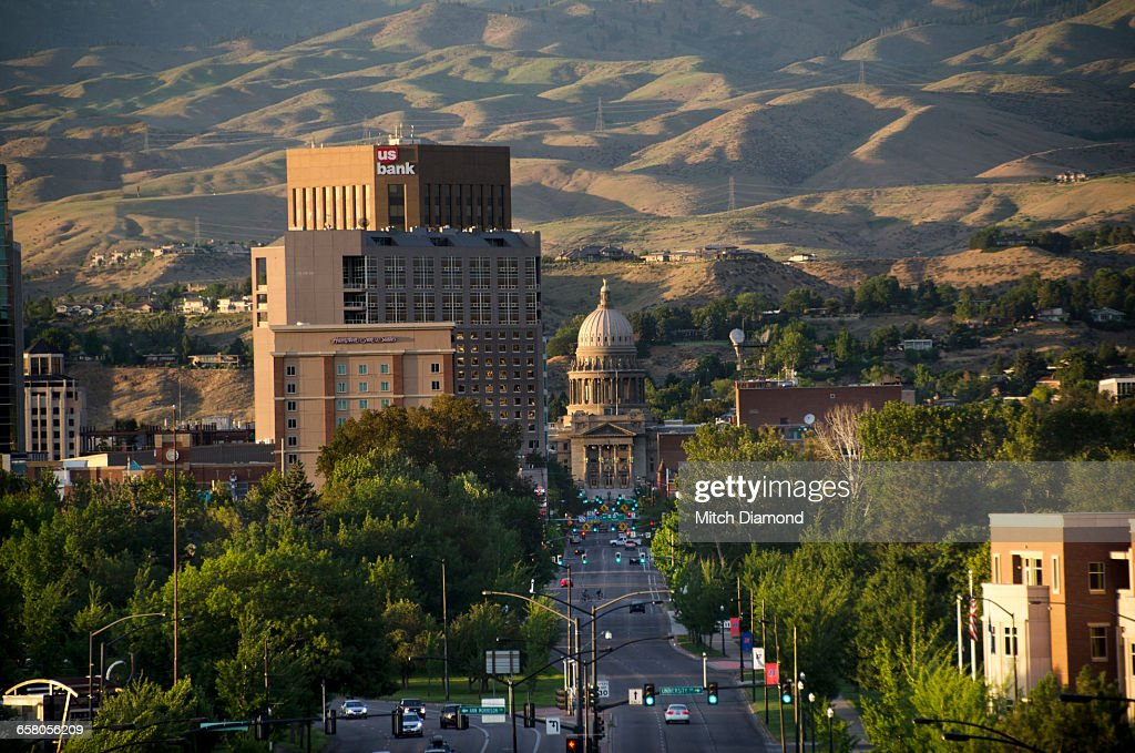 Idaho State Capitol Building Stock Photos And Pictures
