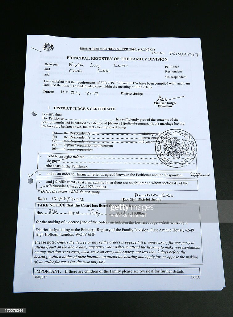 World S Best Divorce Papers Stock Pictures Photos And