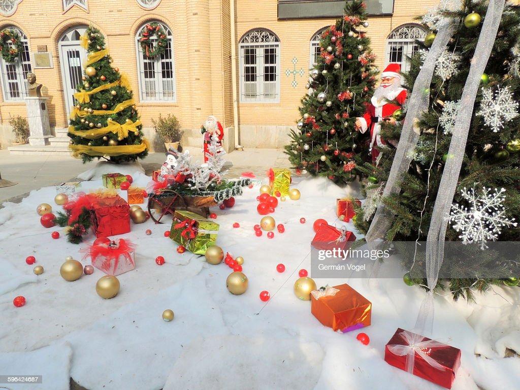 Christmas Decorations At Armenian Church In Iran High Res