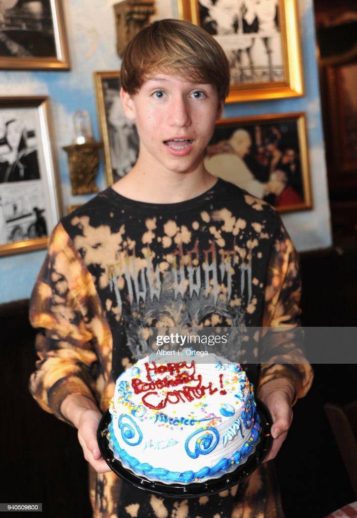 Conner Shane Celebrates His Birthday At Buca Di Beppo Stock Fotos Und Bilder Getty Images