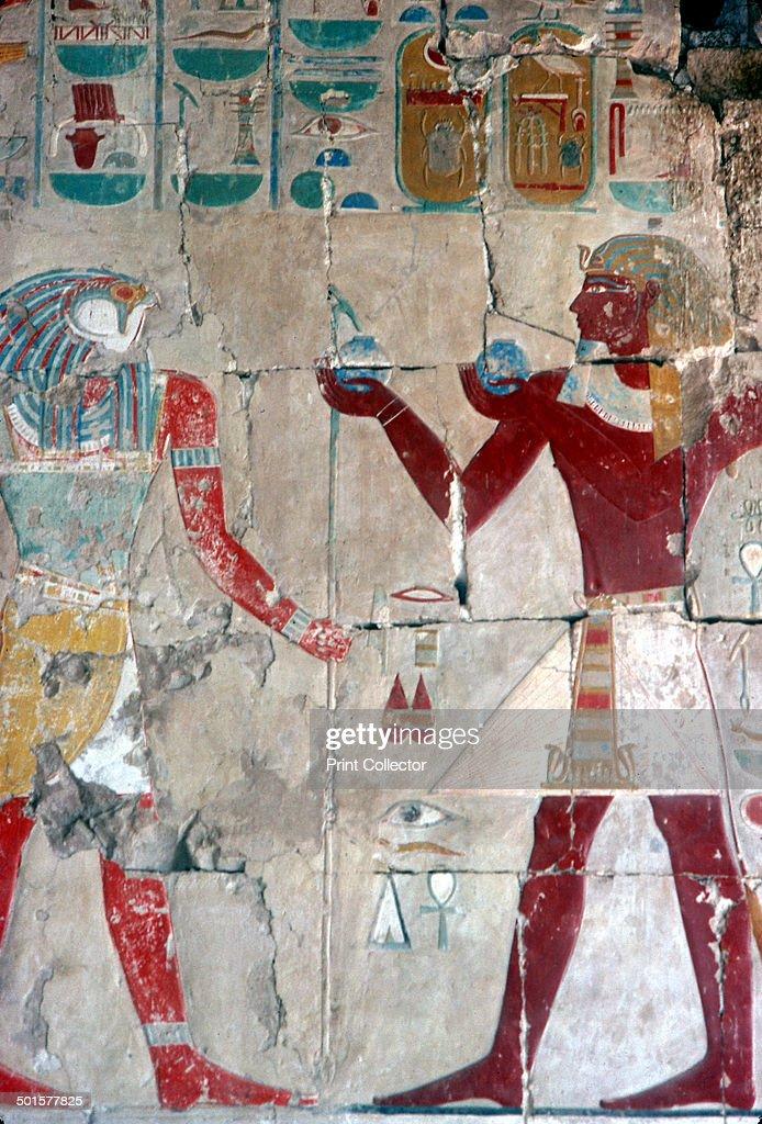 Hatshepsut Tomb Paintings