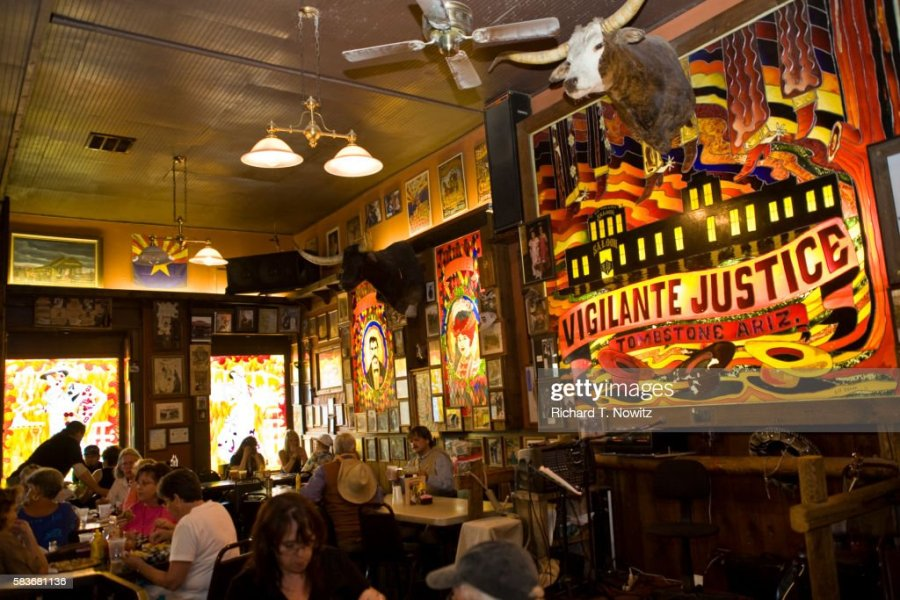 Interior Of Big Nose Kates Saloon In Tombstone Stock Photo   Getty     Interior of Big Nose Kate s Saloon in Tombstone   Stock Photo