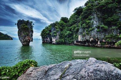 James Bond Island In Phuket Thailand Stock Photo   Getty ...