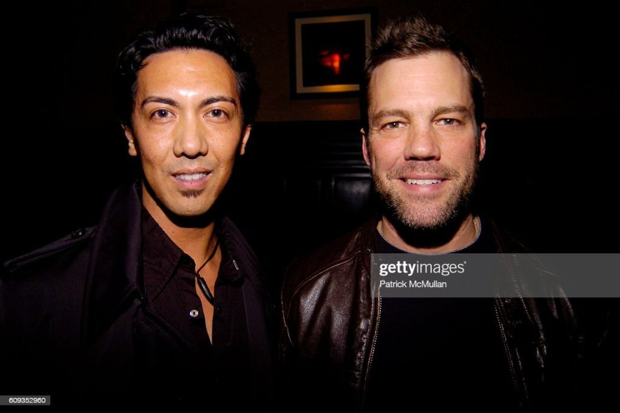 Patrick McMullan Archives Pictures   Getty Images Joseph Ungoco and John Dulworth attend MONDAY S HARD Party Hosted By  Brandon Propst  Blake Pierce