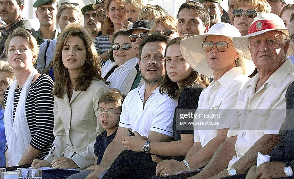 Members Of The Jordanian Royal Family, Including Queen
