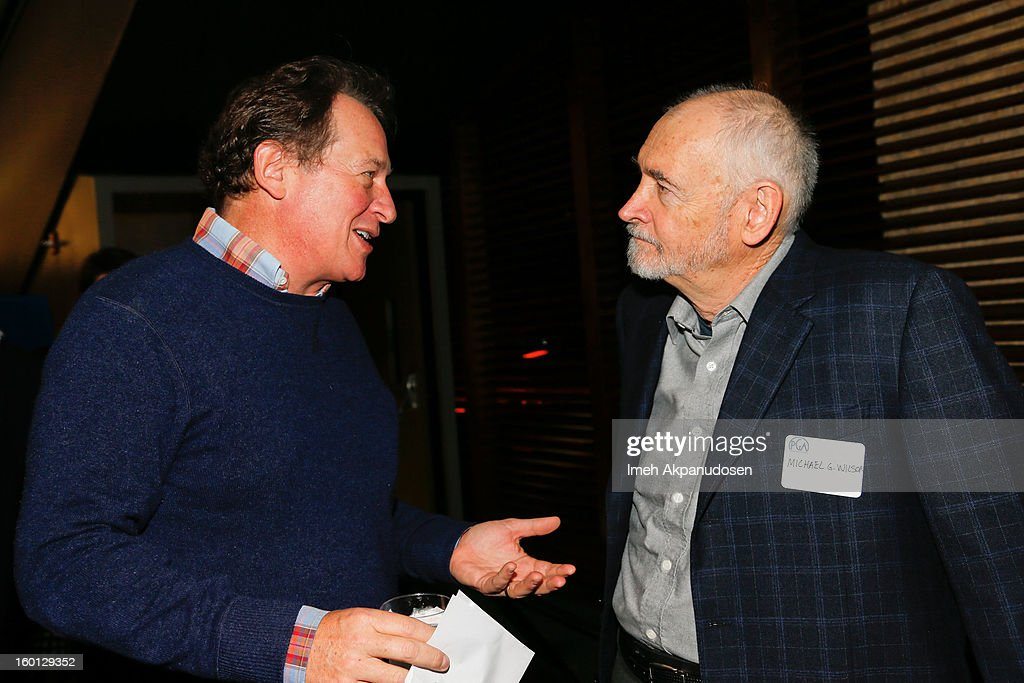 Michael G Wilson Philanthrop Photos     Pictures of Michael G Wilson     PGA motion pictures vice president Gary Lucchesi  L  and producer Michael G   Wilson