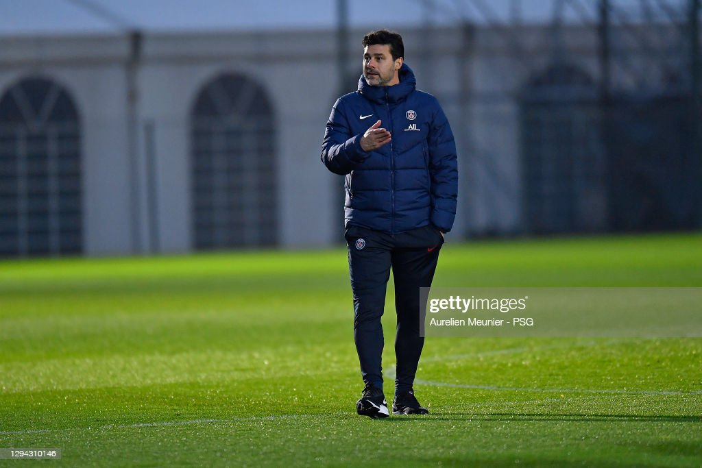 https www gettyimages at fotos pochettino psg