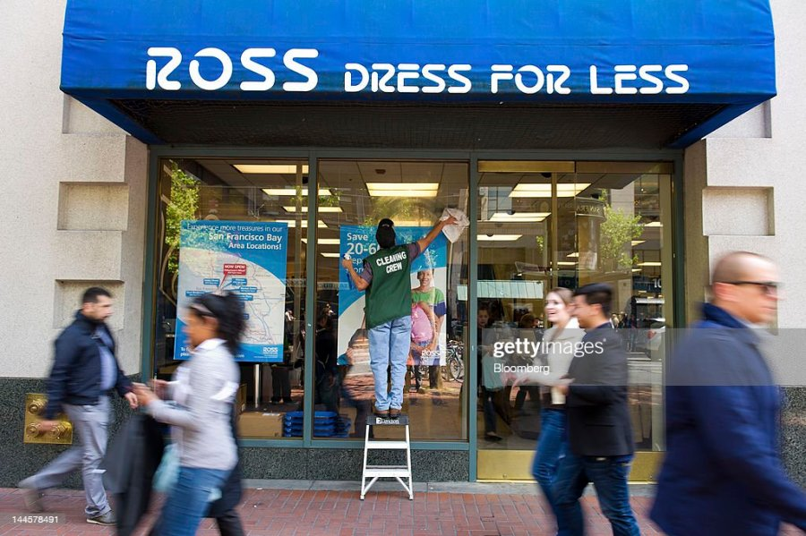 Ross Stores Inc Stock Photos and Pictures   Getty Images Pedestrians pass in front of a Ross Stores Inc location in San Francisco  California US on