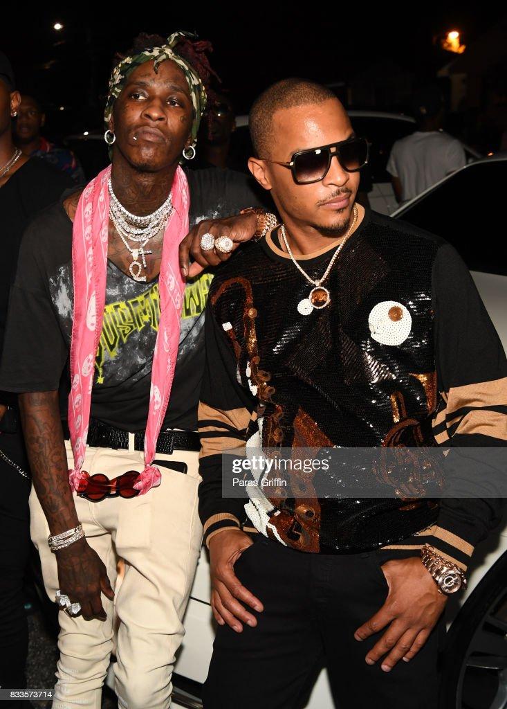 Young Thug Private Birthday Celebration Stock Fotos Und Bilder Getty Images