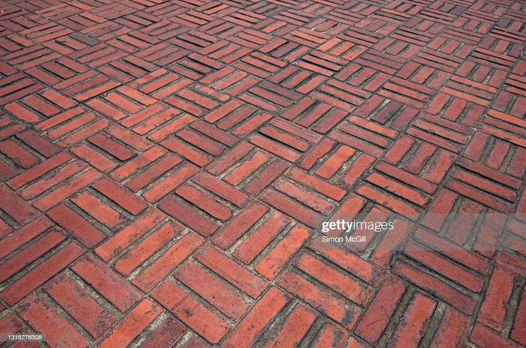 https www gettyimages com photos red brick patio