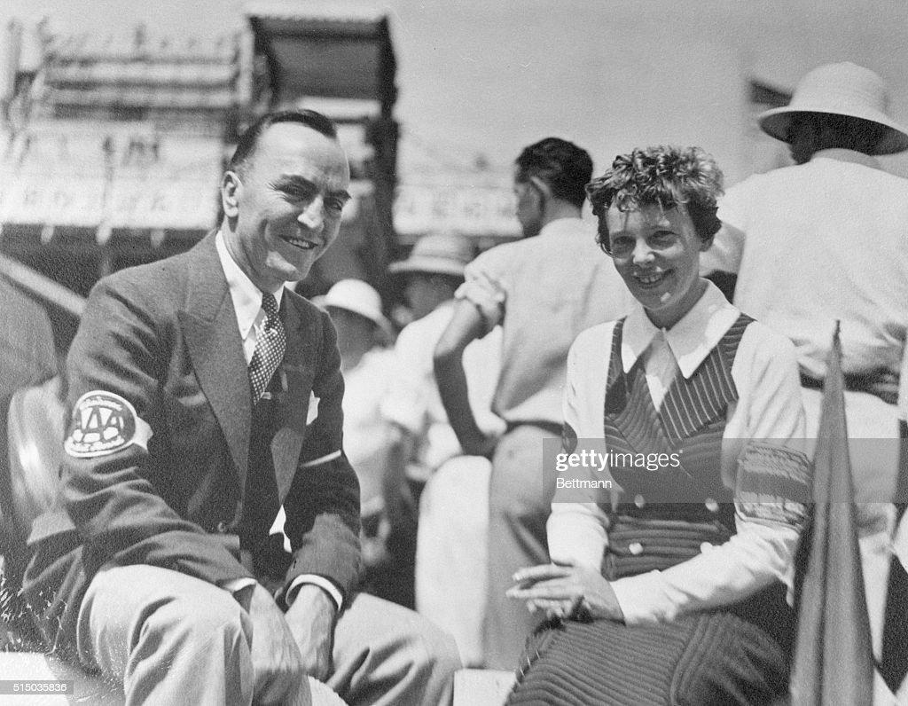 Amelia Earhart And Eleanor Roosevelt Plane
