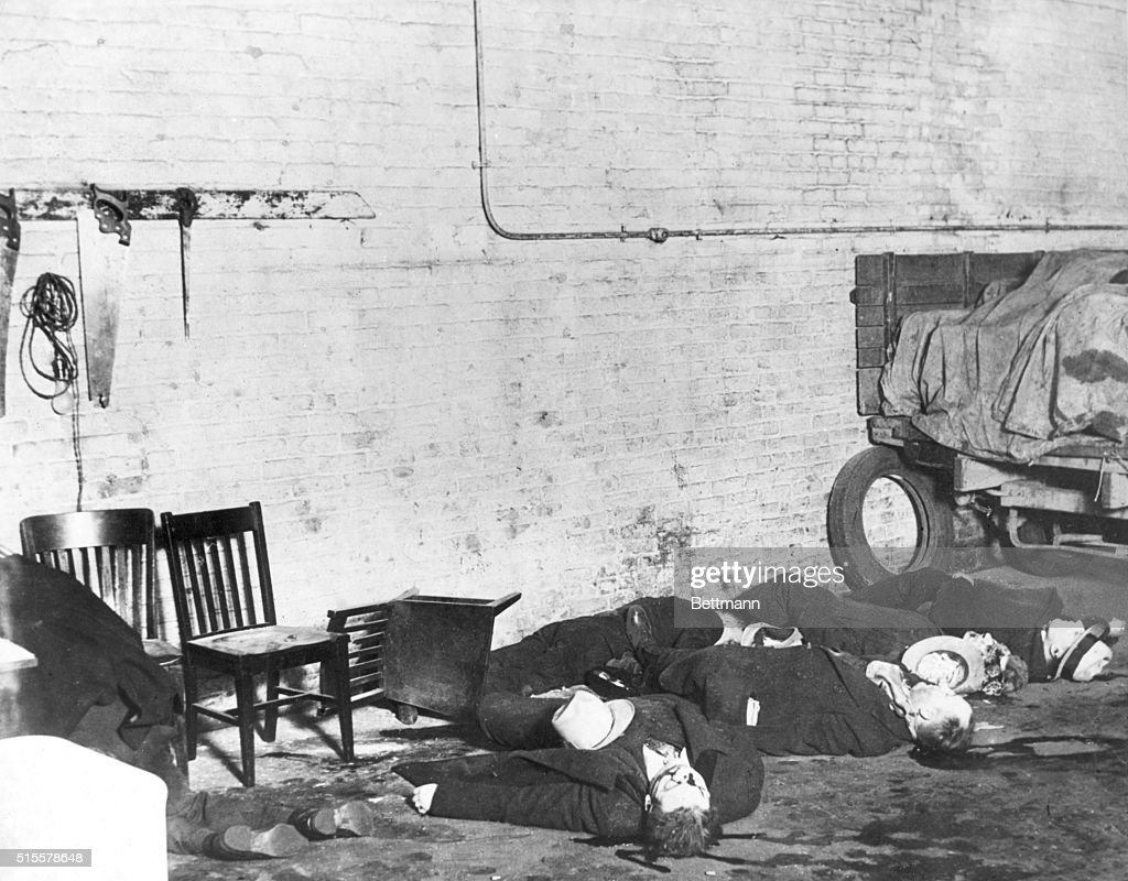 Saint Valentines Day Massacre Scene Pictures Getty Images