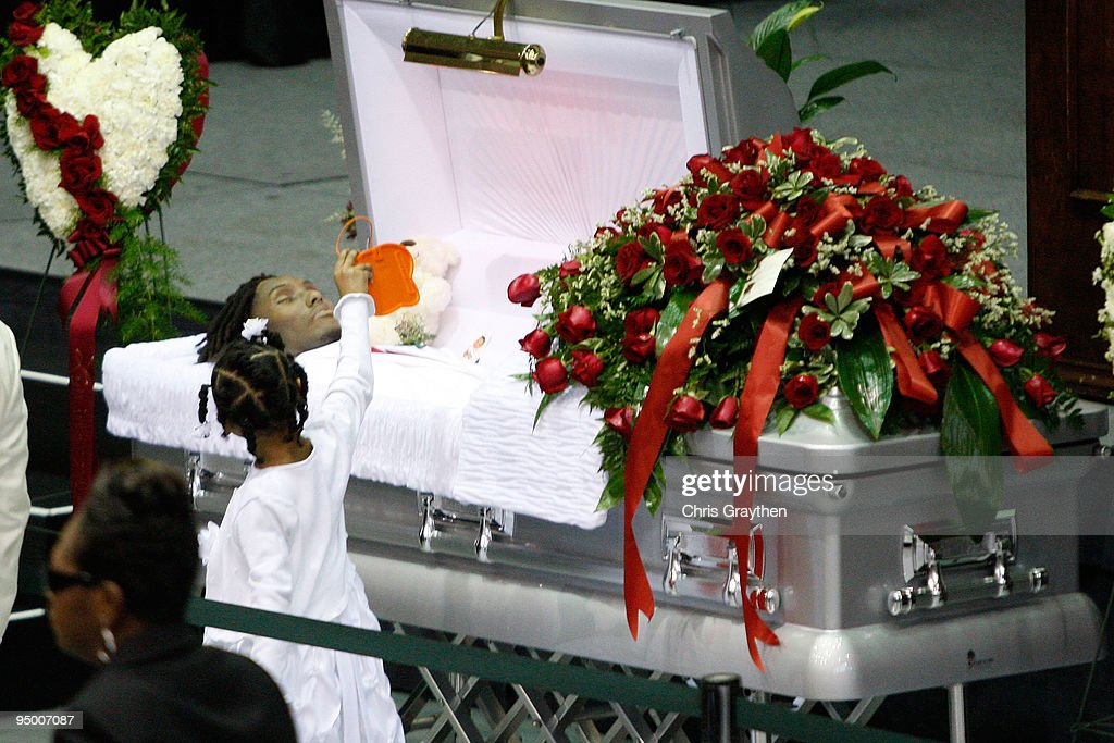 Natina Reed Funeral Open Casket