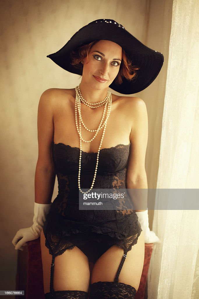 Mature Woman Lingerie Stock Photos And Pictures Getty Images