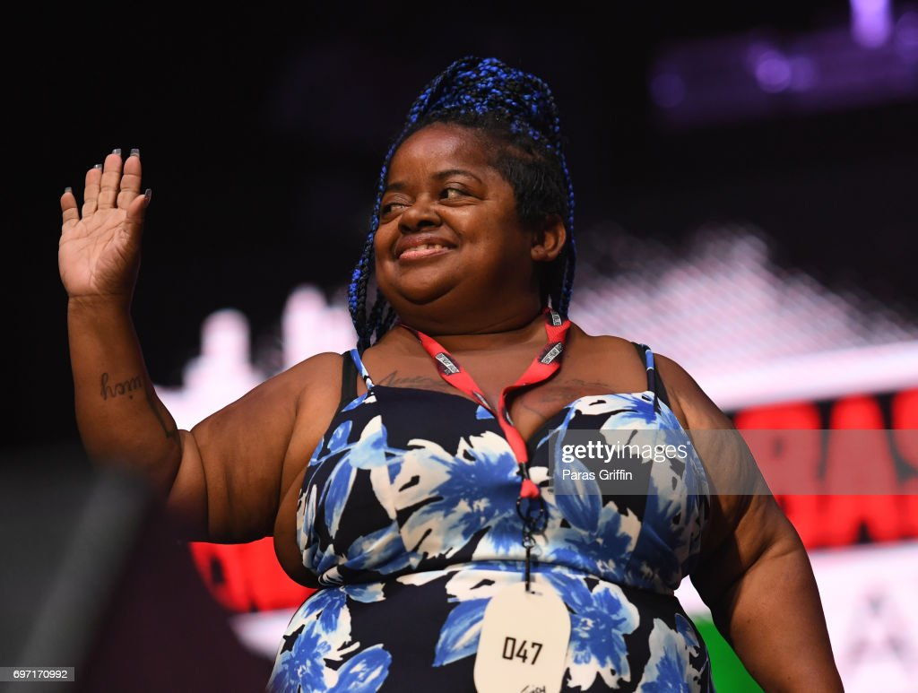 Shirlene Ms Juicy Baby Pearson Onstage At Hot 107 9 Birthday Bash Nachrichtenfoto Getty Images