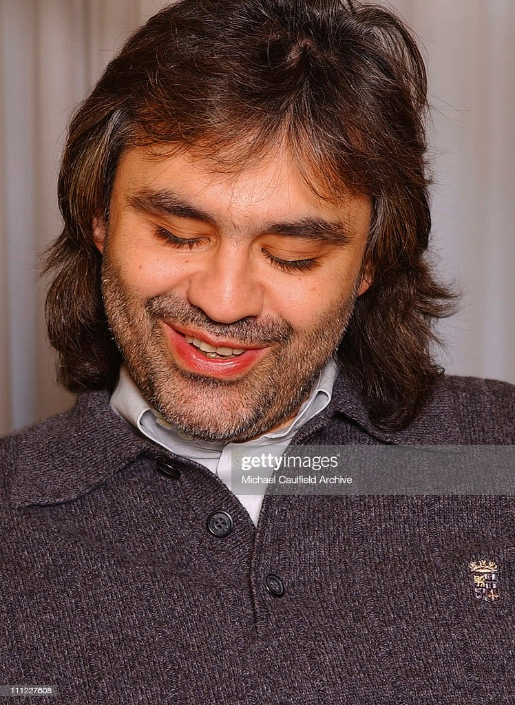 Andrea Bocelli Getty Images