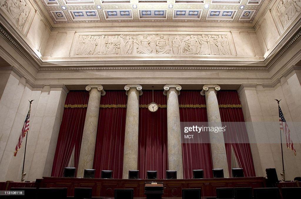 Us Supreme Inside Court Washington Dc