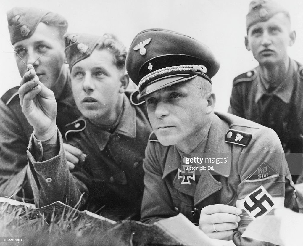 War Volunteers Of The Hitler Youth For The Waffen-SS