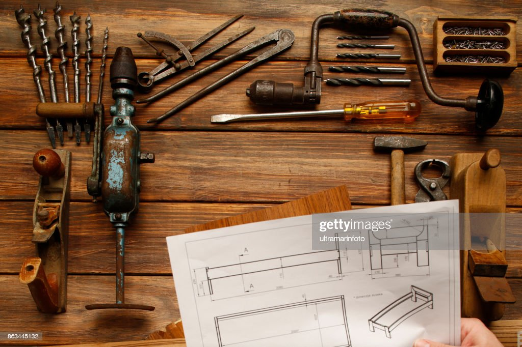 https www gettyimages com detail photo work tool diy vintage carpenter tools on rustic royalty free image 863445132