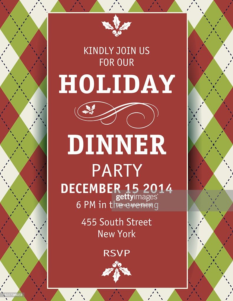 Doc635635 Christmas Dinner Invitation Template Free Top 25 – Christmas Dinner Invitation Template Free