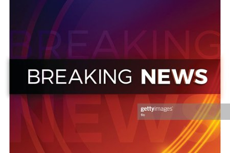 Breaking News Live On Planet Background Business Vector Image Stock Footage With World Map Blue