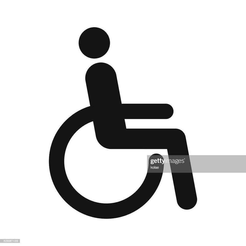 Behindertenzeichen Vektorgrafik Thinkstock