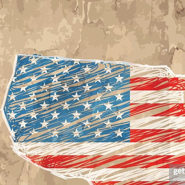 HD Decor Images » Usa Flag Map Wooden Style Vector Art   Getty Images USA flag map wooden style   Vector Art