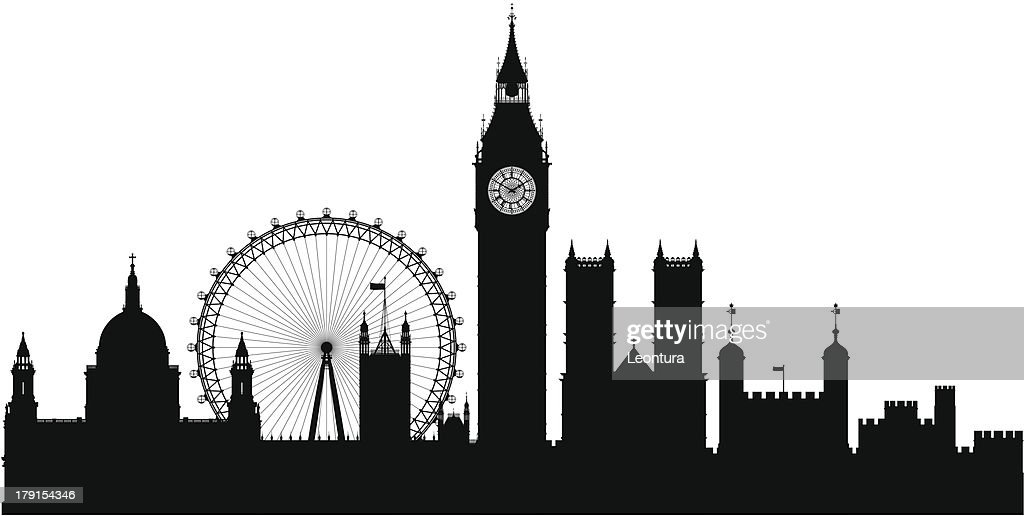 Big Ben Peter Pan Silhouette