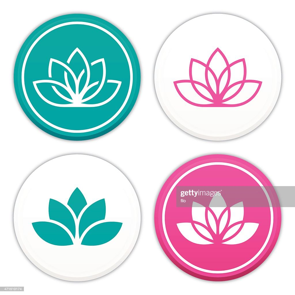 Buddhist Symbols Lotus Flower