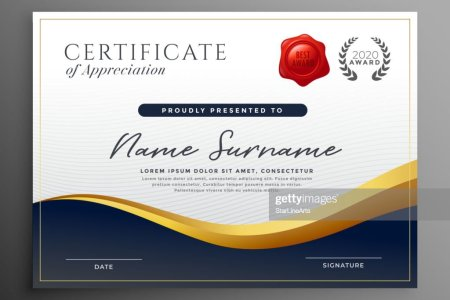 Professional Diploma Certificate Template Design Vector Art   Thinkstock professional diploma certificate template design   Vector Art