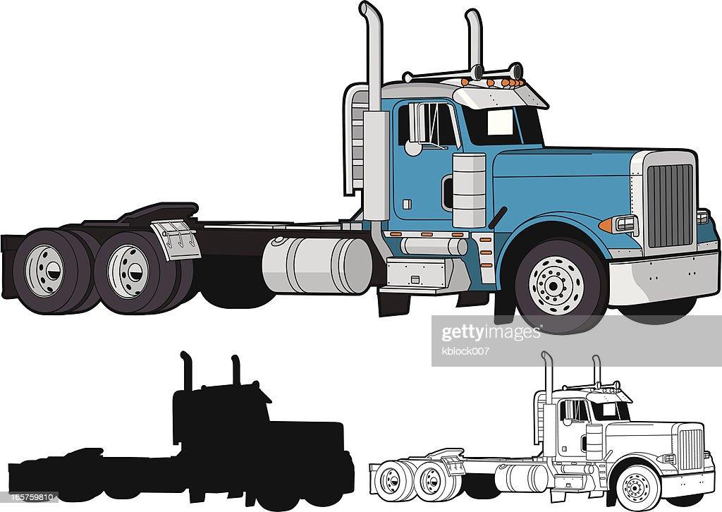 https www gettyimages dk photos semi truck exhaust stacks