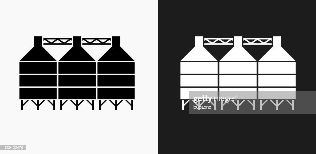 Clip White Black And And Silo Barn Art