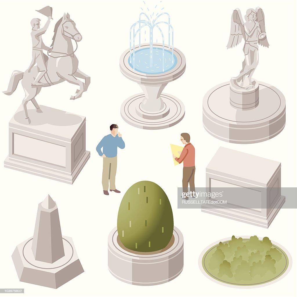 Illustrations Et Dessins Anims De Fontaine Getty Images