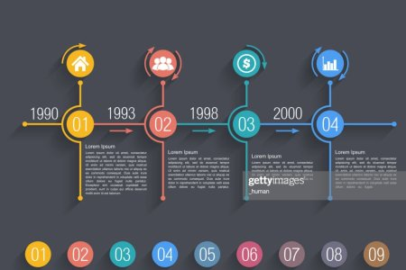 Timeline Design Template Vector Art   Thinkstock Timeline Design Template   Vector Art