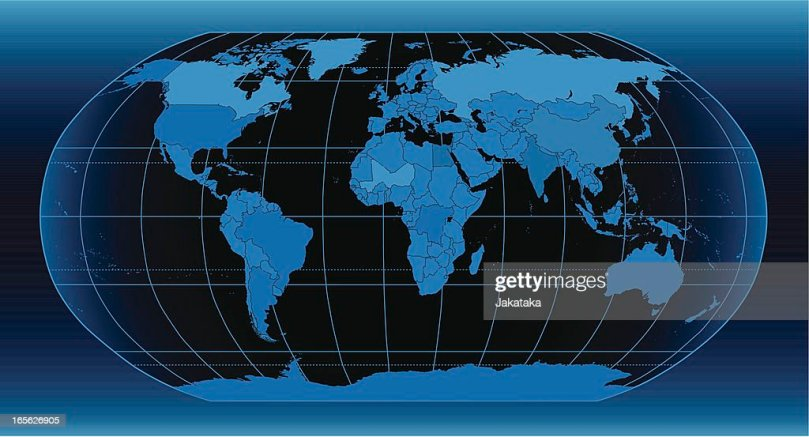 World Political Map Vector Art   Getty Images World political map    Vector Art