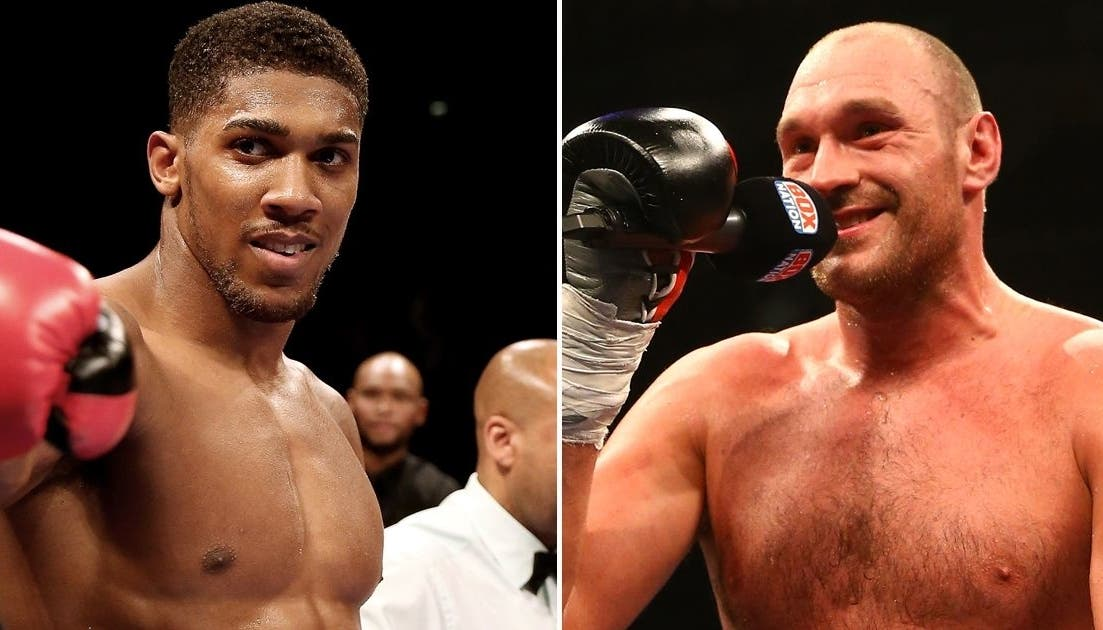 Anthony Joshua dismisses the Mike Tyson fight because 'people would boo'