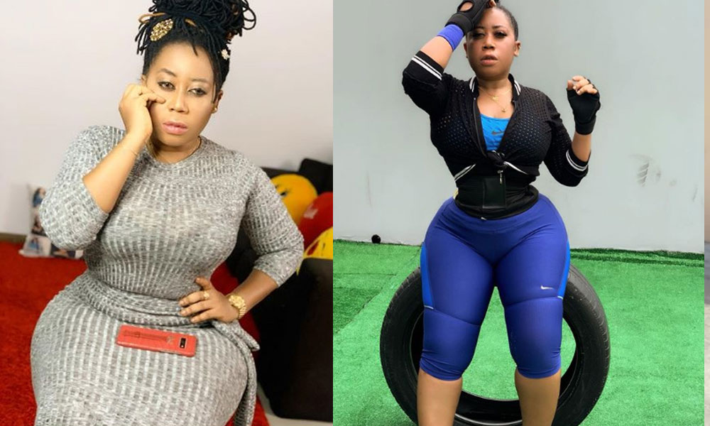 I Can't Sleep' - Actress Moyo Lawal Cries Out Over Loss Of Her Hips And Bum