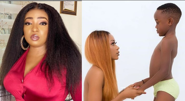 Akuapem Poloo Receives Heavy Backlash From Anita Joseph For Unclad Photo With Son thumbnail