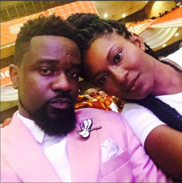Sarkodie and tracy sackCess