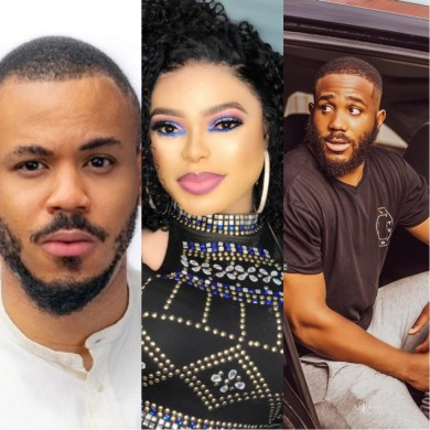 BBNaija 2020: Bobrisky reveals his 3 favorite housemates for the grand prize