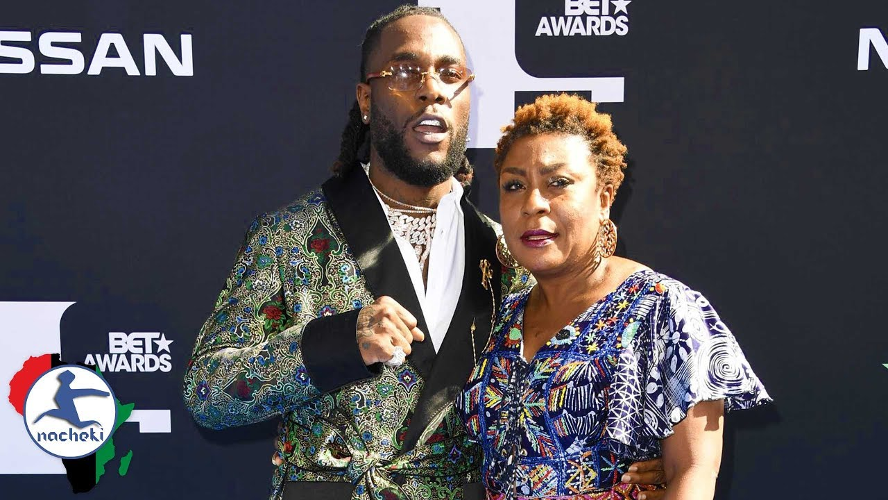 Meet The Mother Of The African Giant Burna Boy, Who's Also His Manager-Photos