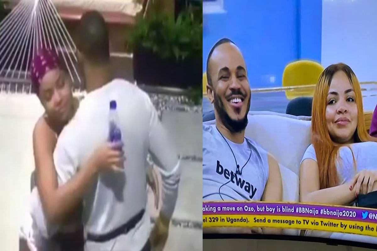 #BBNaija2020: Ozo and Nengi showed each other affection, hugged and went to bed