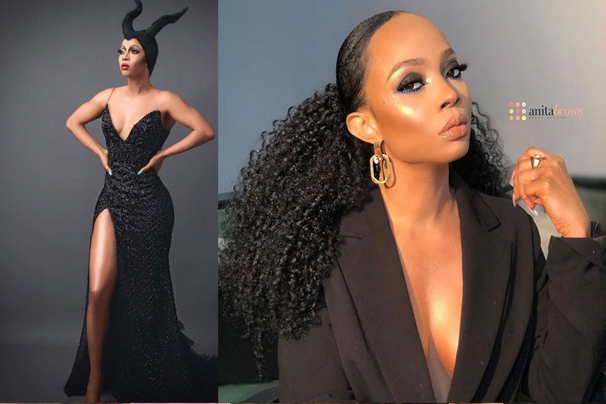 Toke Makinwa Reacts To Lagos Curfew Due To EndSARS Protest By Enoch