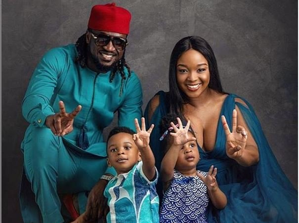 Meet Psquare Rudeboy's Adorable Family, Wife, Sons, Beautiful Twins
