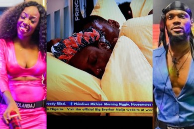 BBNaija: Tolanibaj sleeps with Prince last night (Photos)
